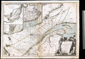 A new map of the Province of Quebec according to the Royal Proclamation October 7, 1763.