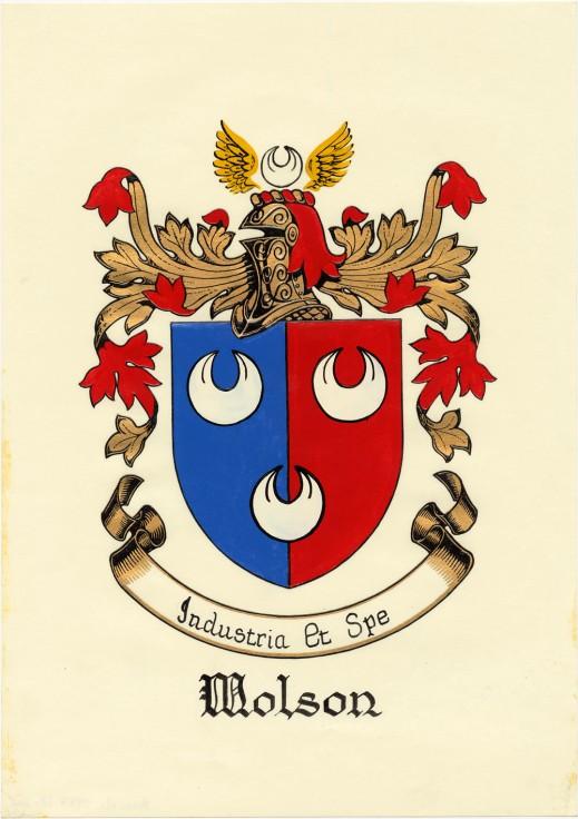 Molson coat of arms (MIKAN 2946047)