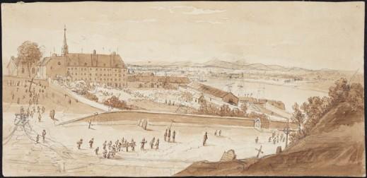 Hôtel-Dieu, Quebec City, ca. 1822–1832
