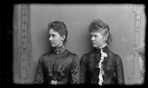 Miss Sparks and Miss Magee, 1889.
