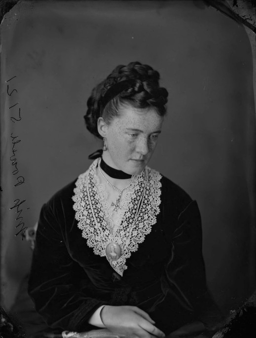 Miss Powell, 1870