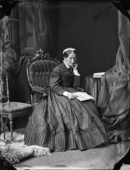 Mrs. Bronson, 1869