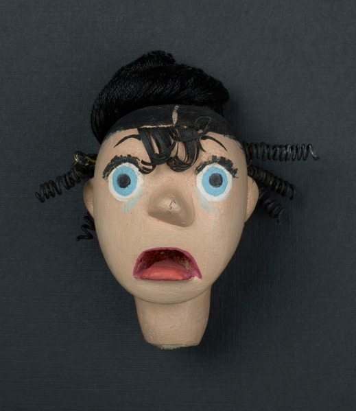 Wife Puppet Head—Scare