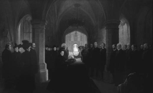 Queen Victoria's tribute to her dead Canadian Premier [Sir John Thompson], December 13, 1894, by Frederic Marlett Bell-Smith