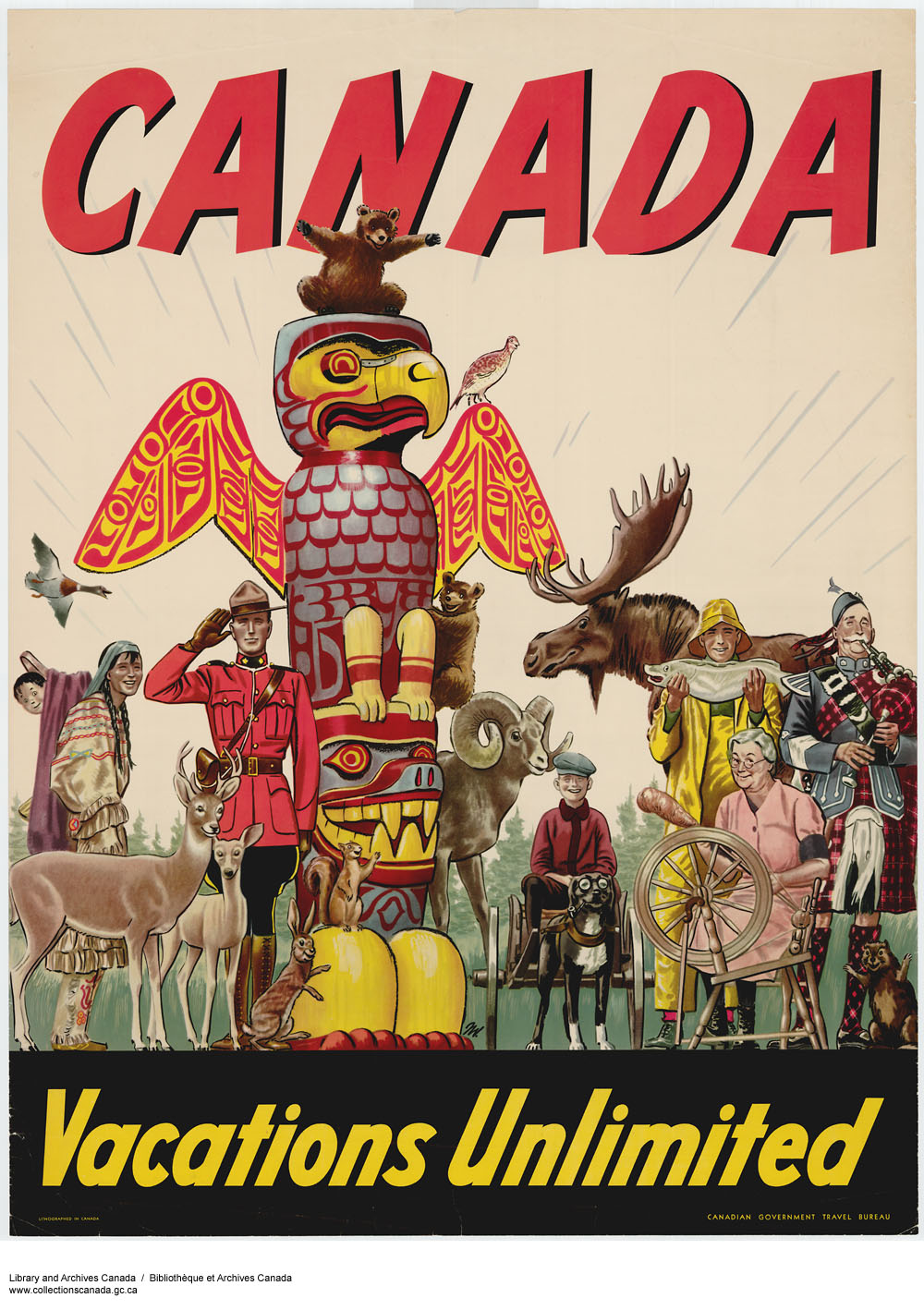 Canadian Government Travel Bureau - 1947