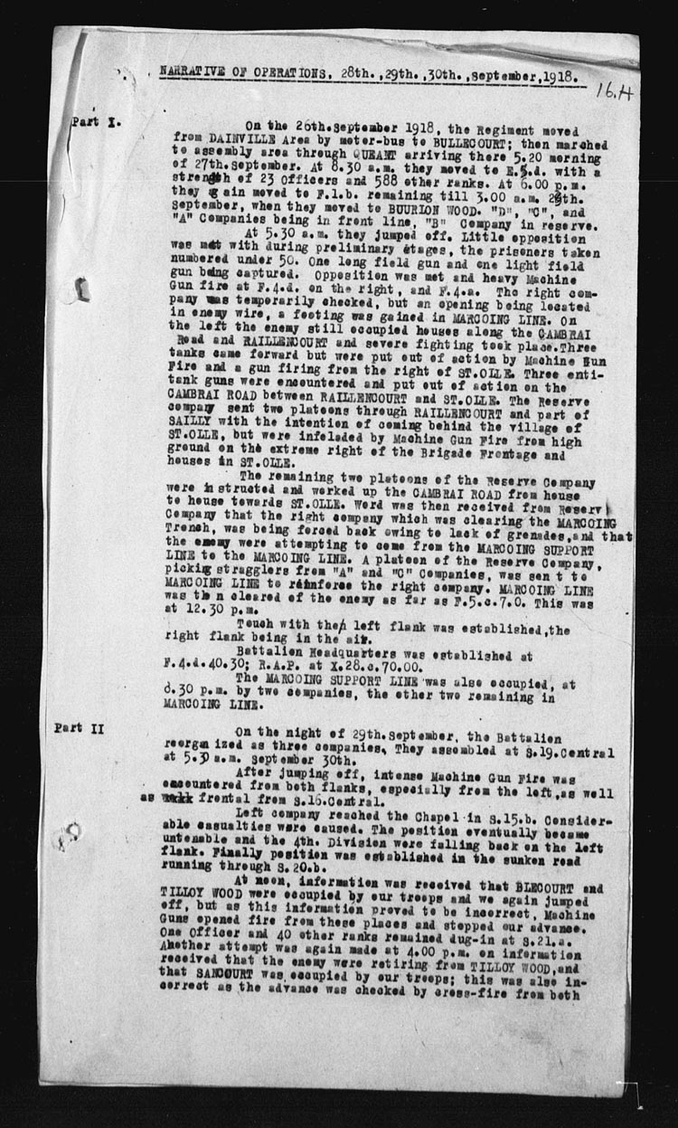 A black-and-white copy of a page with paragraphs of texts typed in black ink.