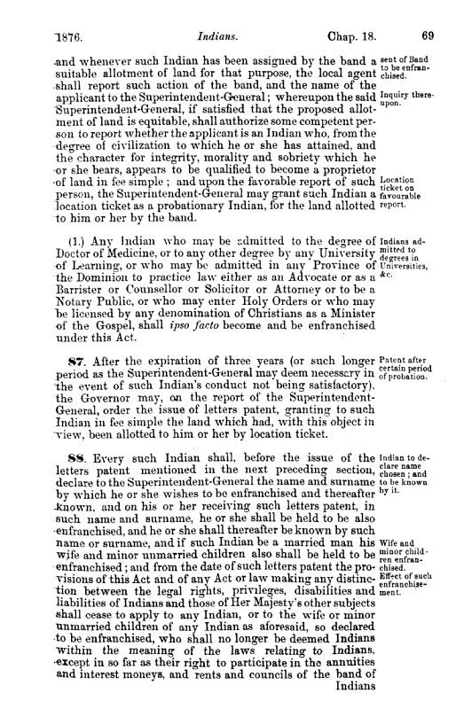 A black-and-white typed page of a legal statute.