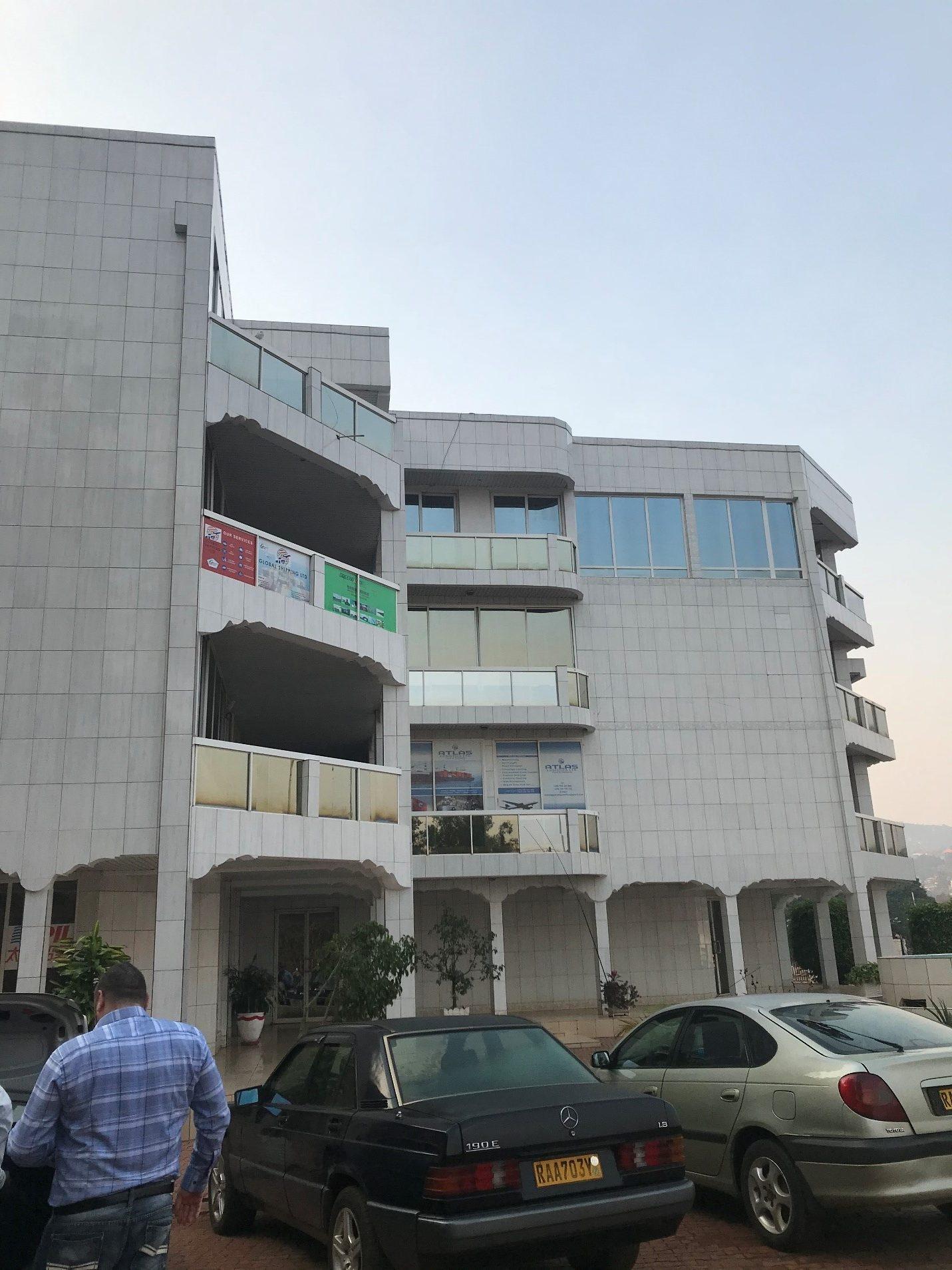 A colour photograph of an office building.